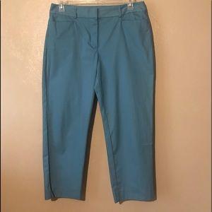 Talbots ankle pants size 12, Cotton